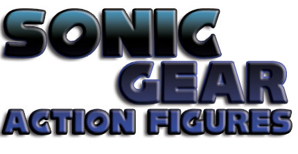 Sonic the Hedgehog Action Figures Title