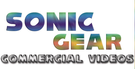 Commercial Sonic Videos Title Graphic