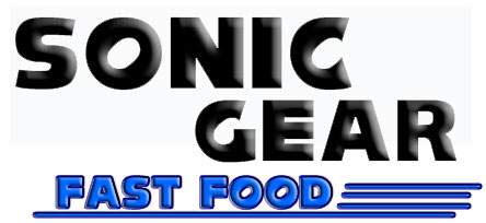 Sonic the Hedgehog Fast Food Title