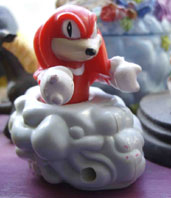 McDonalds Knuckles Rolling Cloud Toy