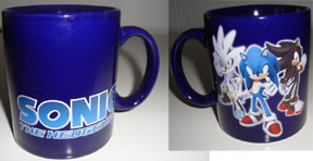 Sonic 360 Themed 3 Hedgehog Mug