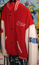 Sonic Coke Cola Jacket Sega Sleeve