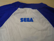 Sega shirt back photo
