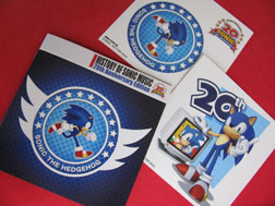 History of Sonic Bonus Stickers