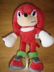 Mystery Knuckles plush