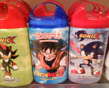 Sonic X Ring Top Shampoo Gels