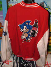 Sonic Coke Jacket Back Design