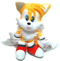 Tails open mouth plush SA Tag doll