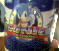 Sonic 1 Title Screen Mug
