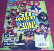 Mad Magazine 50 Worst about Video Games