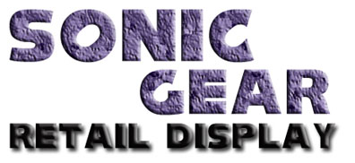 Retail Displays Sonic Title