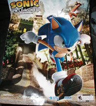 Sonic Side Unleashed Double Poster