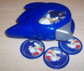 Sonic Disk Launcher Toy Photo