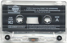 SuperSonic Cassete Tape
